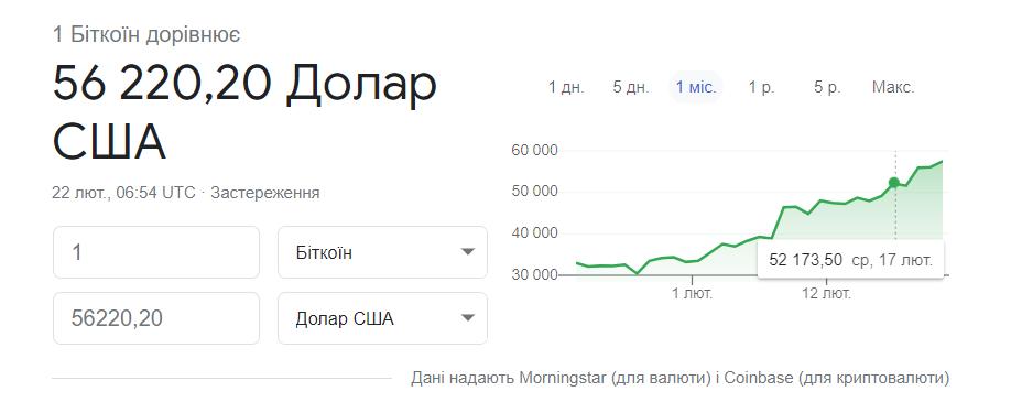Скриншот Coinbase