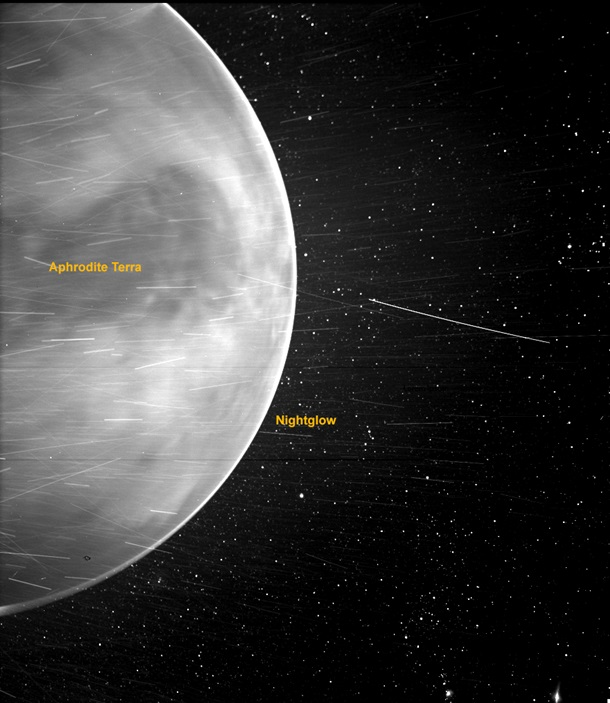 NASA показало уникальное явление на Венере 1