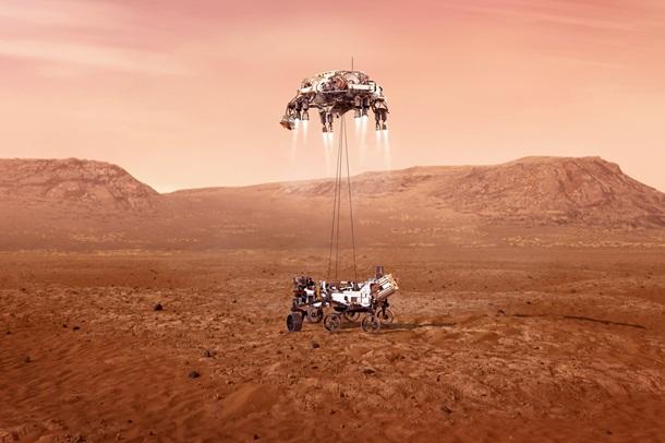 Семь минут ужаса. Perseverance ищет жизнь на Марсе 2