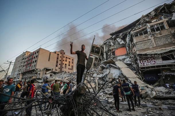 Война в Израиле: онлайн-трансляция - фото с места столкновений 2